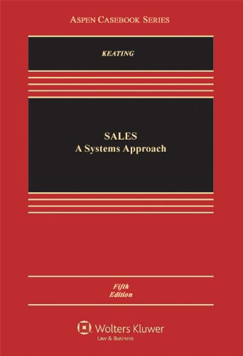 Sales A Systems Approach 5th 2011 (Revised) edition cover