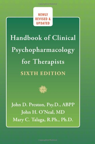 Handbook of Clinical Psychopharmacology for Therapists  6th 2010 (Revised) 9781572246980 Front Cover