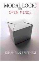 Modal Logic for Open Minds   2010 edition cover