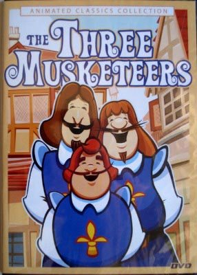Animated Classics Collection:The Three Musketeers System.Collections.Generic.List`1[System.String] artwork