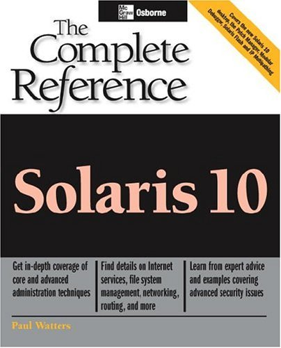 Solaris 10   2005 9780072229981 Front Cover