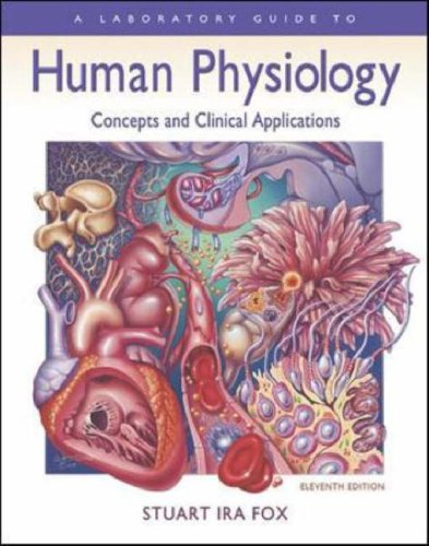 Laboratory Manual to Accompany Human Physiology  11th 2006 (Revised) edition cover