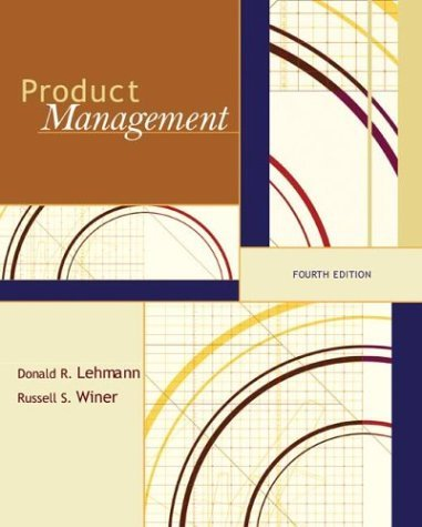 Product Management  4th 2005 (Revised) edition cover