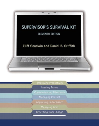 Supervisor's Survival Kit  11th 2009 9780132396981 Front Cover