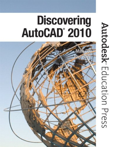 Discovering AutoCAD 2010   2010 9780135069981 Front Cover