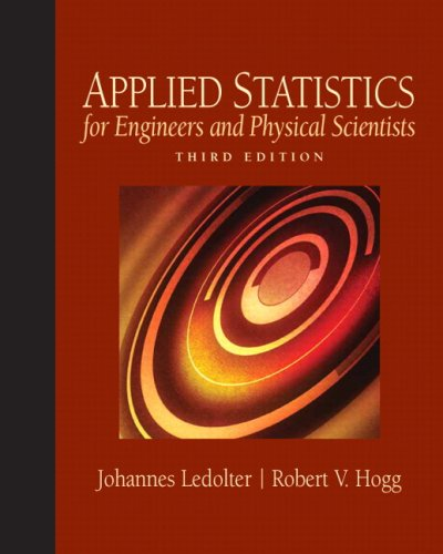 Applied Statistics for Engineers and Physical Scientists  3rd 2010 edition cover