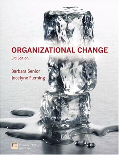Organizational Change  3rd 2006 (Revised) 9780273695981 Front Cover