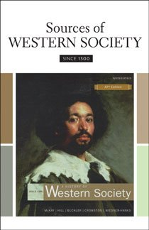 Sources of Western Society since 1300 for Advanced Placement  9th 2010 9780312688981 Front Cover