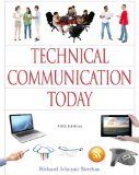 Technical Communication Today  5th 2015 edition cover