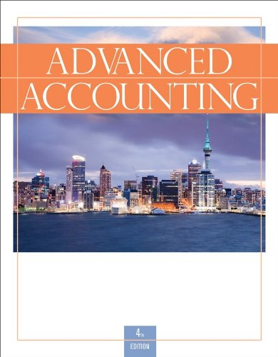 Advanced Accounting  4th 2010 edition cover
