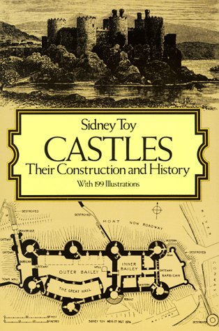 Castles Their Construction and History Reprint edition cover