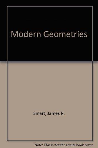 Modern Geometries  4th 1994 edition cover