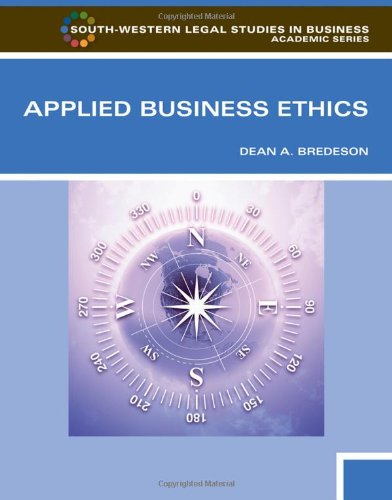 Applied Business Ethics A Skills-Based Approach  2012 edition cover
