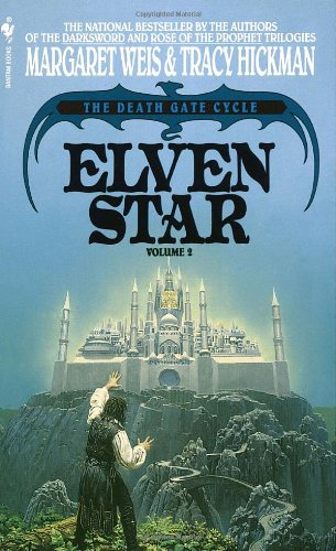 Elven Star The Death Gate Cycle, Volume 2  1990 9780553290981 Front Cover
