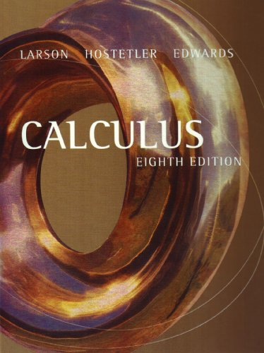 Calculus  8th 2006 edition cover