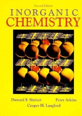 Inorganic Chemistry 2nd 1994 edition cover