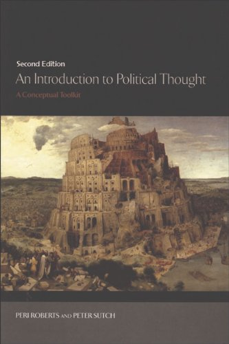 Introduction to Political Thought A Conceptual Toolkit 2nd 2012 (Revised) 9780748643981 Front Cover