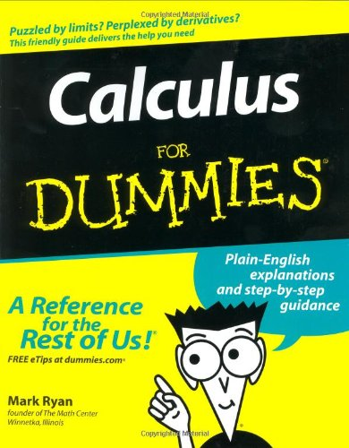 Calculus for Dummies�   2003 edition cover
