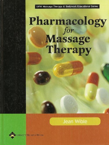 Pharmacology for Massage Therapy   2005 edition cover