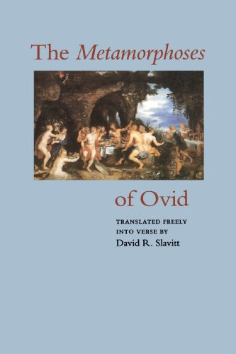 Metamorphoses of Ovid   1994 edition cover