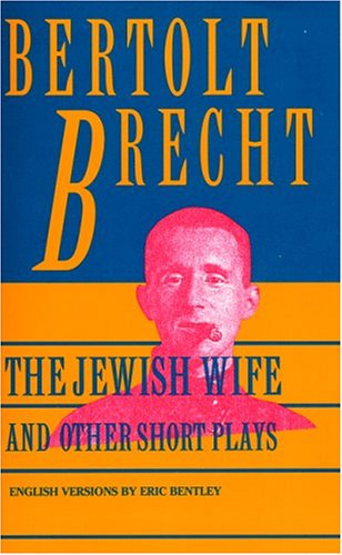 Jewish Wife and Other Short Plays  Reprint  edition cover