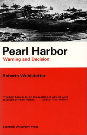 Pearl Harbor Warning and Decision  1962 edition cover