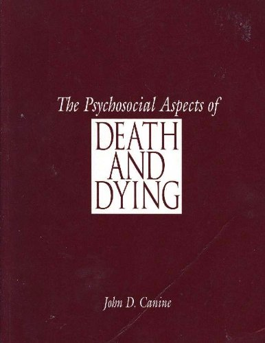 Psychosocial Aspects of Death and Dying   1996 edition cover