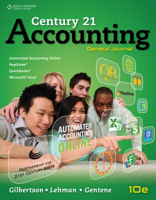 Century 21 Accounting General Journal 10th 2014 9780840064981 Front Cover