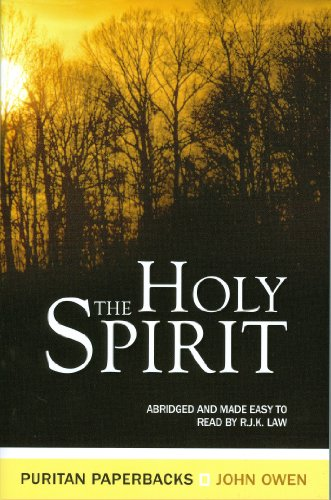 Holy Spirit : The Treasures of John Owen for Today's Readers  1998 (Abridged) edition cover