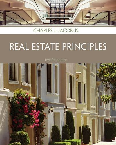 Real Estate Principles:   2013 edition cover