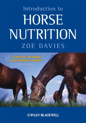 Introduction to Horse Nutrition   2009 edition cover