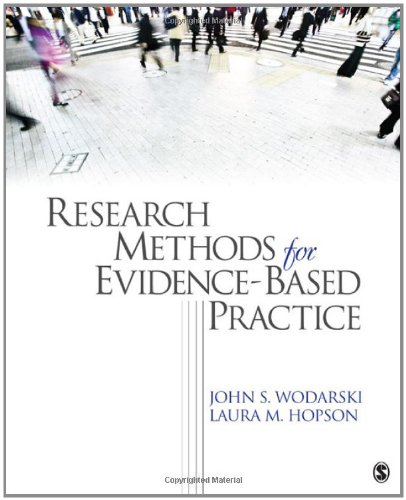 Research Methods for Evidence-Based Practice   2012 edition cover