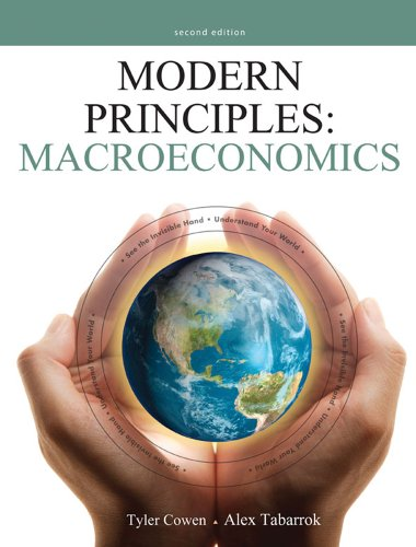Modern Principles: Macroeconomics  2nd 2012 (Revised) edition cover
