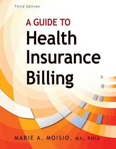 Guide to Health Insurance Billing  3rd 2011 edition cover
