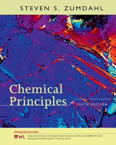 Chemical Principles  6th 2010 edition cover