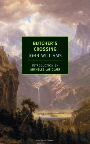 Butcher's Crossing   2007 edition cover