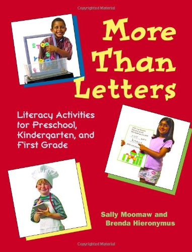More Than Letters Literacy Activities for Preschool, Kindergarten and First Grade  2001 edition cover