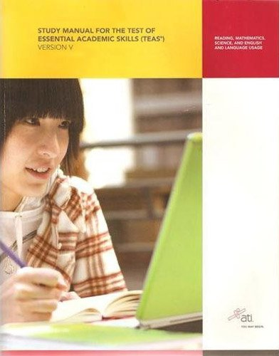Study Manual for the Test of Essential Academic Skills  5th 2010 9781933107981 Front Cover