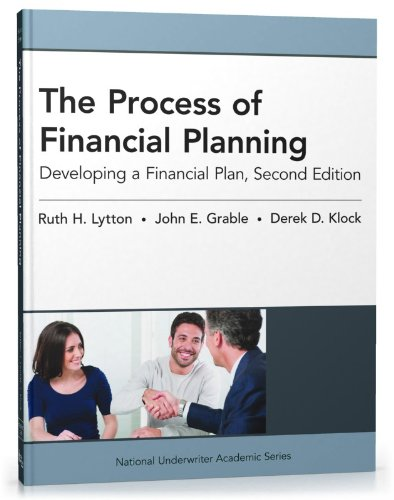 Process of Financial Planning Developing a Financial Plan 2nd 2012 edition cover