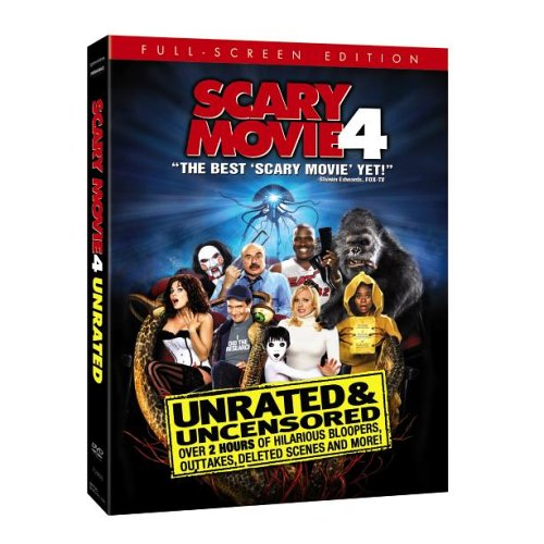 Scary Movie 4 (Unrated Full Screen Edition) System.Collections.Generic.List`1[System.String] artwork