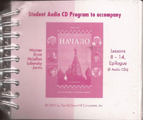 Nachalo: Student Audio Cd Program : Lessons 8-14, Epilogue 2nd 2003 edition cover