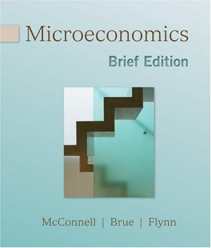 Microeconomics, Brief Edition   2010 edition cover