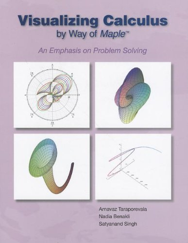 Visualizing Calculus by Way of Maple An Emphasis on Problem Solving  2012 9780078035982 Front Cover