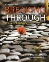 Breaking Through College Reading, Books a la Carte Plus MyReadingLab with Pearson EText -- Access Card Package 11th 2016 edition cover