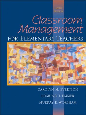 Classroom Management for Elementary Teachers  6th 2003 edition cover
