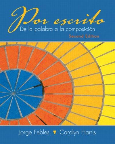 Por Escrito  2nd 2010 edition cover