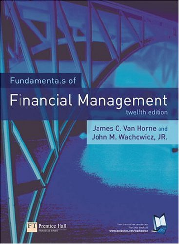 Fundamentals of Financial Management  12th 2005 (Revised) 9780273685982 Front Cover