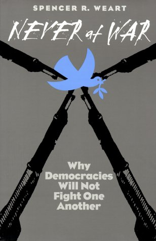 Never at War Why Democracies Will Not Fight One Another  2000 9780300082982 Front Cover