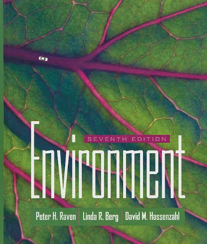 Environment  7th 2011 9780470525982 Front Cover