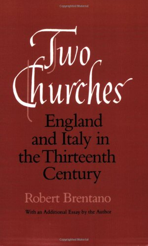 Two Churches England and Italy in the Thirteenth Century, with an Additional Essay by the Author 2nd 1988 edition cover